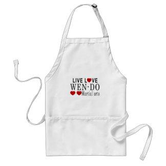 LIVE LOVE WEN-DO MARTIAL ARTS ADULT APRON