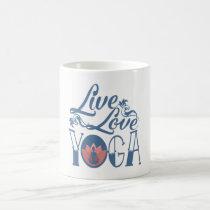 LIVE - LOVE - YOGA COFFEE MUG