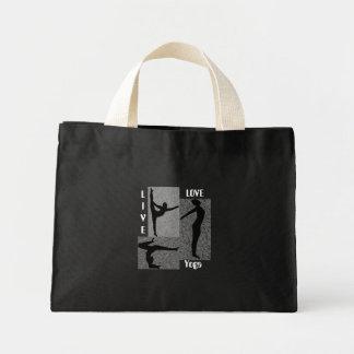 Live Love Yoga tote bag