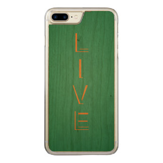 Live Modern Trendy Color Carved iPhone 7 Plus Case
