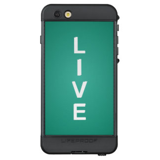 Live Modern Trendy Color LifeProof NÜÜD iPhone 6s Plus Case