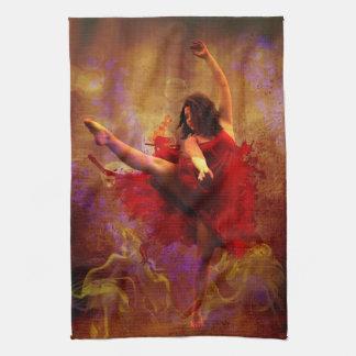 Live More / Dance more Kitchen tea Towel
