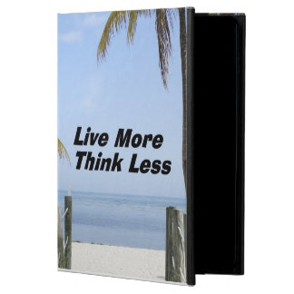 Live More Think Less Powis iPad Air 2 Case