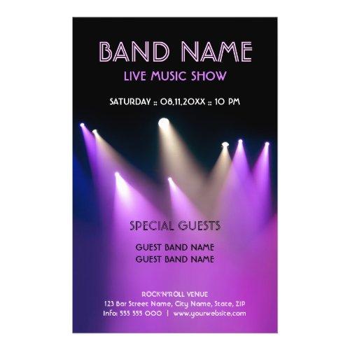 Live Music Concert flyer flyer