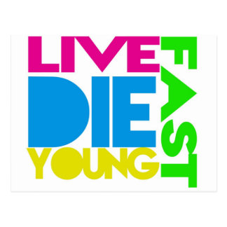 Live nearly young post cards
