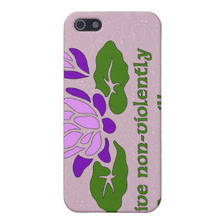 Live Non-Violently iPhone 5 Cover