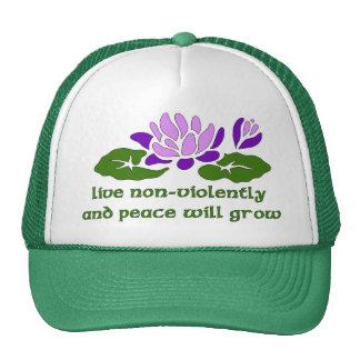 Live Non-Violently Trucker Hat