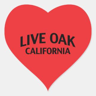 Live Oak California Stickers