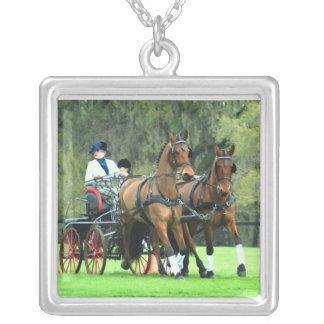 Live oak cde 2009 square pendant necklace
