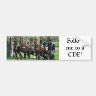 live oak cde bumper sticker