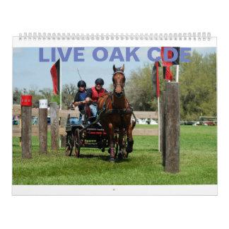 Live Oak CDE March 2010 Calendar