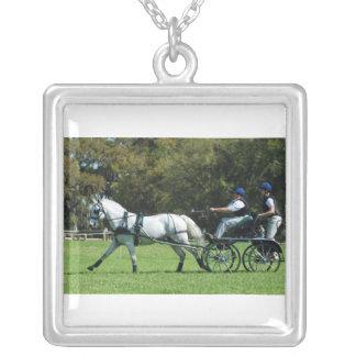 live oak cde square pendant necklace
