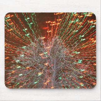 Live Oak Florida Tree Christmas Lights Zoom Mouse Pad