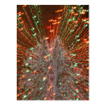 Live Oak Florida Tree Christmas Lights Zoom Postcard