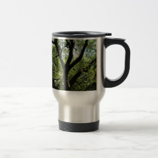 Live Oak In Downtown Savannah Travel Mug