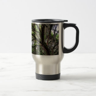 Live oak & mossLive Oak Trees - Quercus virginiana Travel Mug