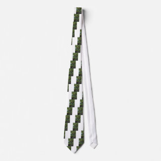 Live Oak Tree and Classic Bicycle Neck Tie