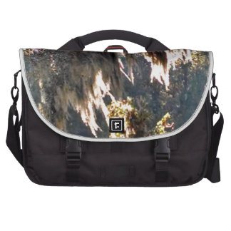 Live Oak Tree with draping Spanish Moss Laptop Commuter Bag