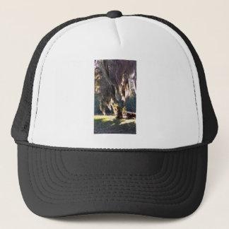 Live Oak Tree with draping Spanish Moss Trucker Hat