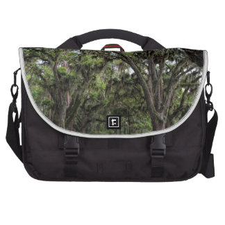 Live Oak Tree With Spanish Moss Laptop Bags