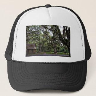Live Oak Tree With Spanish Moss Trucker Hat