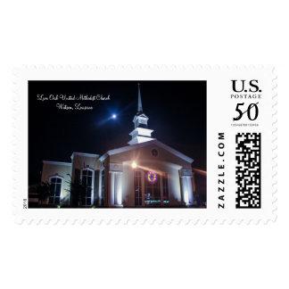 Live Oak United Methodist Church Postage