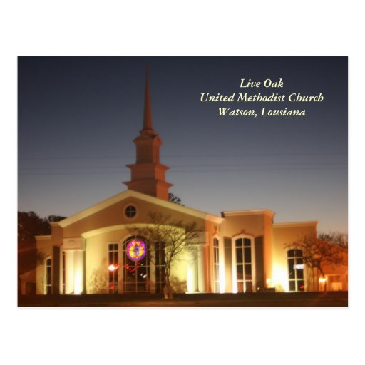 Live Oak United Methodist Church Postcards