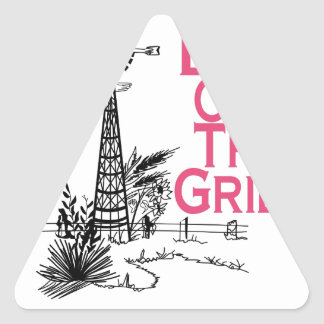 Live Off the Grid Triangle Sticker