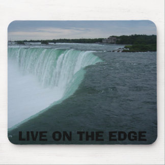 LIVE ON THE EDGE MOUSE PAD