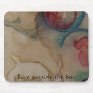 Live outside the box mousepad