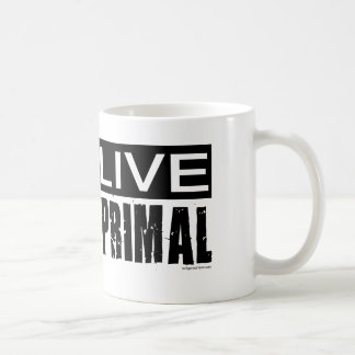 live primal / paleo diet coffee mug