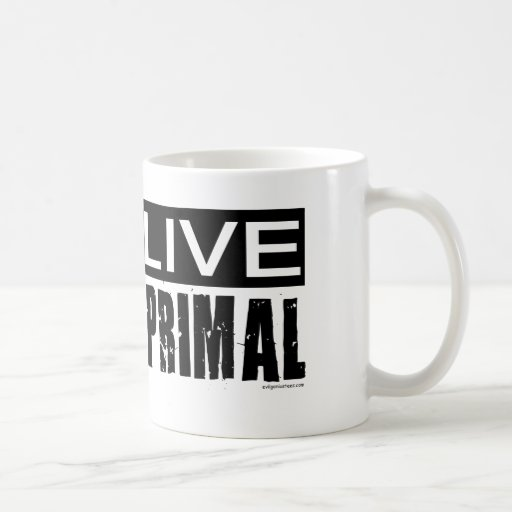 live primal / paleo diet mugs