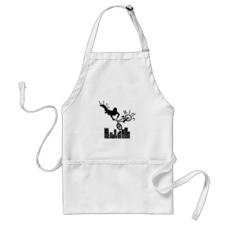 Live, Ride, Freestyle Adult Apron