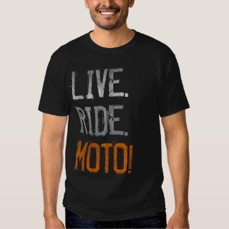 Live. Ride. Moto! (vintage) Shirt