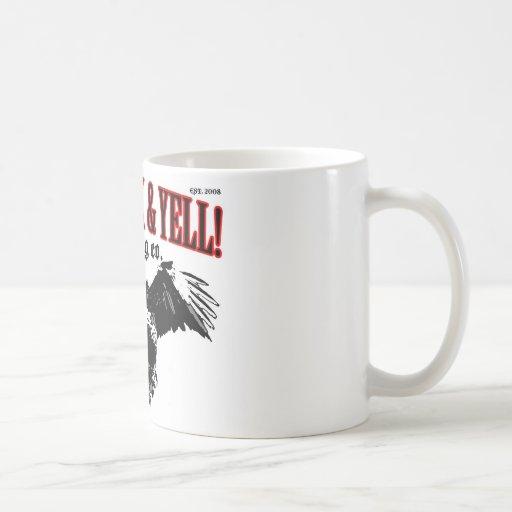 LIVE. ROCK. YELL! official logo merch Mug