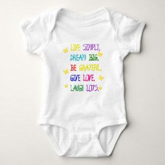 Live Simple Baby Bodysuit