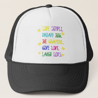 Live Simple Trucker Hat