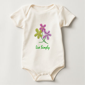 Live Simply Baby Bodysuit