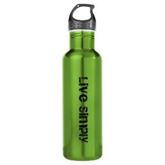 Live Simply - BPA free - Edamame - Water Bottle
