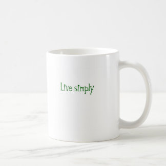 Live Simply Coffee Mug