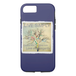 Live Simply iPhone 7 Case