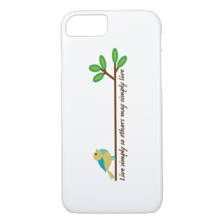 Live Simply iPhone 8/7 Case