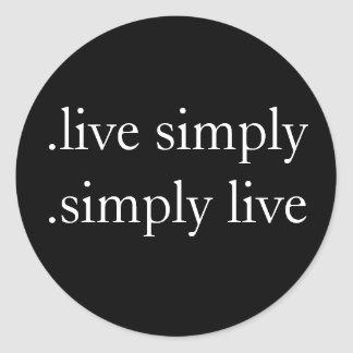 .live simply . simply live sticker