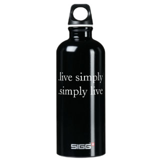 .live simply .simply live water bottle