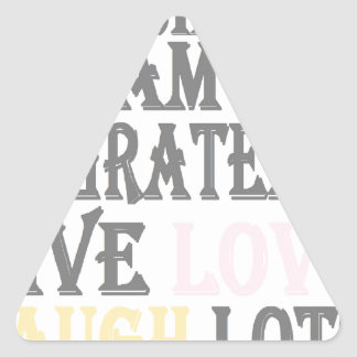 Live Simply Triangle Sticker