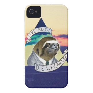 Live Slow, Die Whenever Case-Mate iPhone 4 Cases