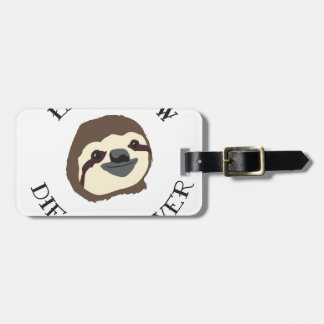 LIVE SLOW DIE WHENEVER LUGGAGE TAG