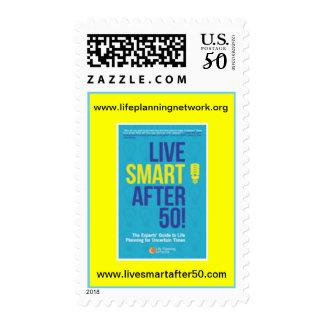LIVE SMART AFTER 50!  U.S. POSTAGE STAMP