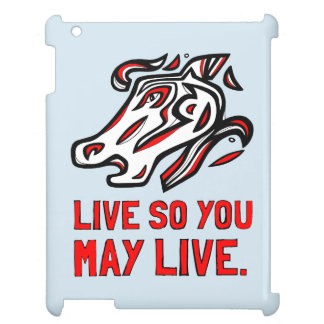 """""""Live So You May Live"""" iPad Case"""