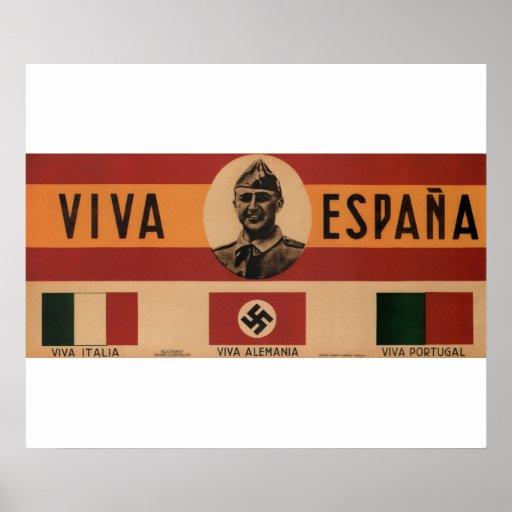 Live Spain (1939)_Propaganda Poster